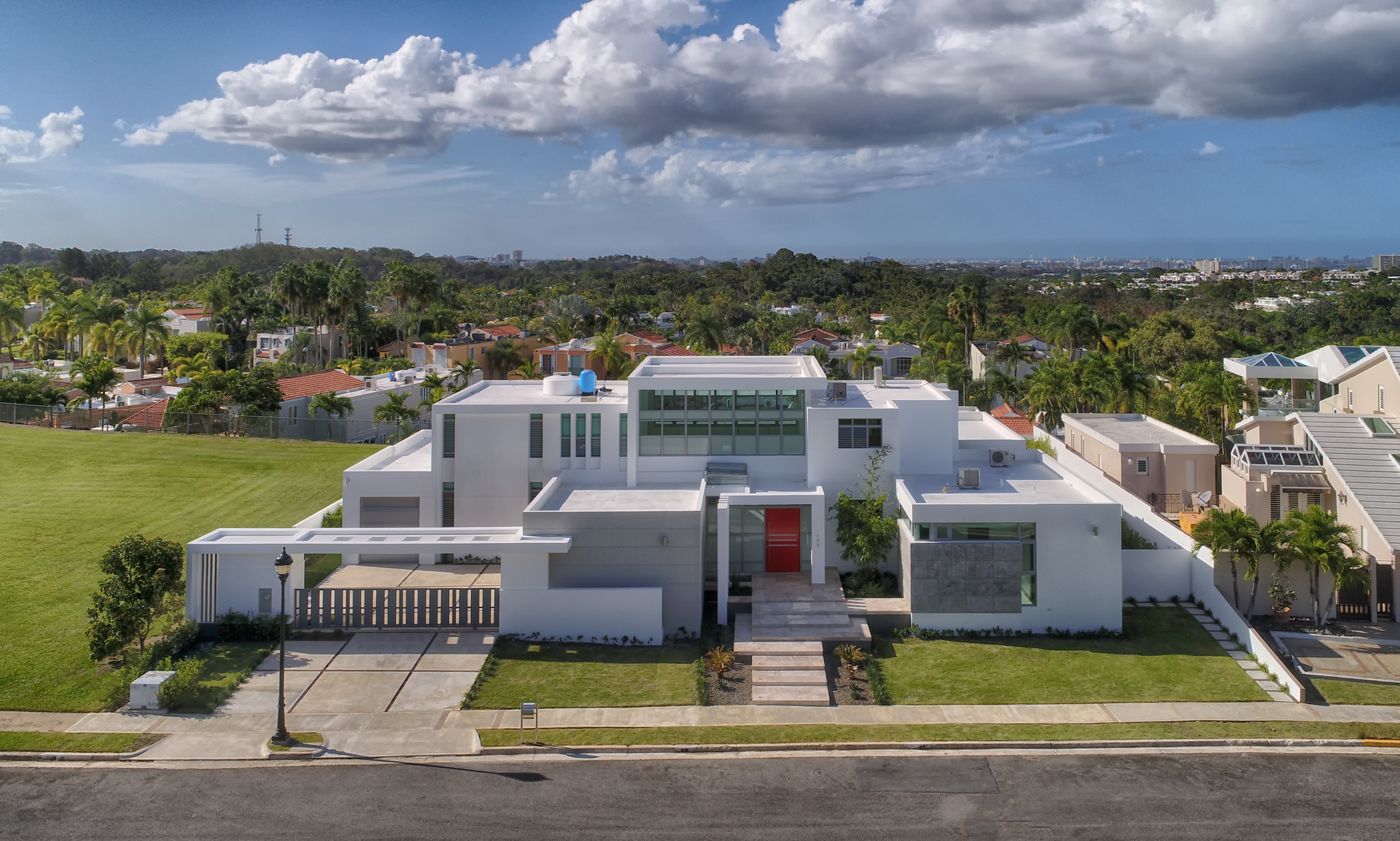 Single Family Home for Sale at Modern Architectural Estate in Montehiedra 168 Calle Tortola Montehiedra San Juan, 00926 Puerto Rico