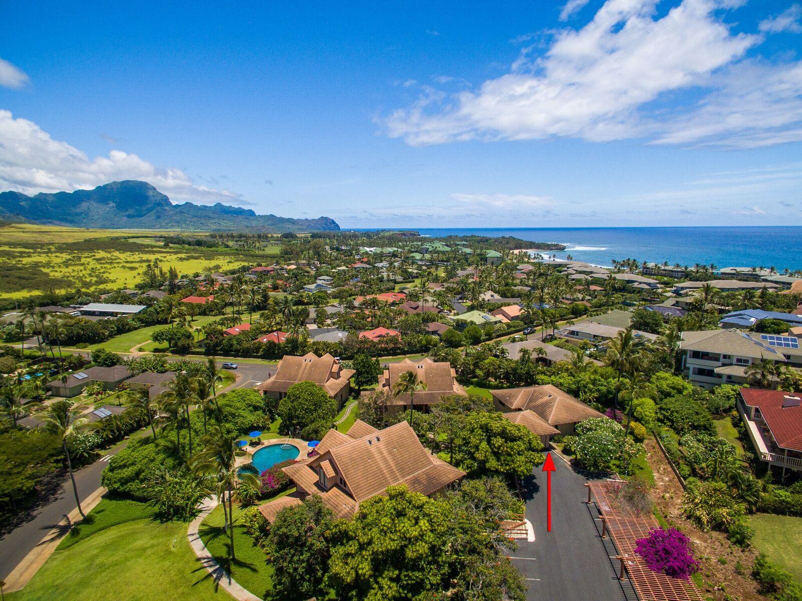 Appartement en copropriété pour l Vente à Rare and Completely Detached Condominium with Two Car Garage in Koloa, Kauai 2370 Ho'ohu Road #311 Koloa, Hawaii 96756 États-Unis