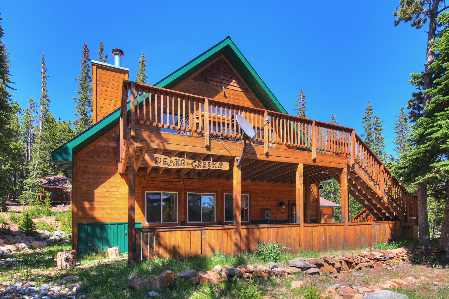 Single Family Homes for Sale at A Nature Lover's Paradise 3253 CO Road 14A Fairplay, Colorado 80440 United States