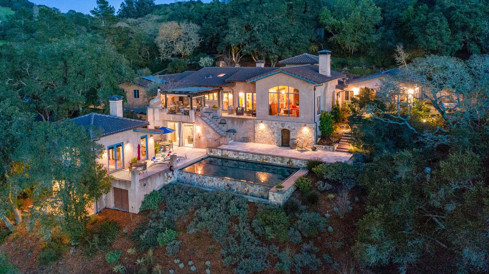 独户住宅 为 销售 在 Barbed Oak Vineyard Estate 3763 Matanzas Creek Lane 圣罗莎, 加利福尼亚州, 95404 美国