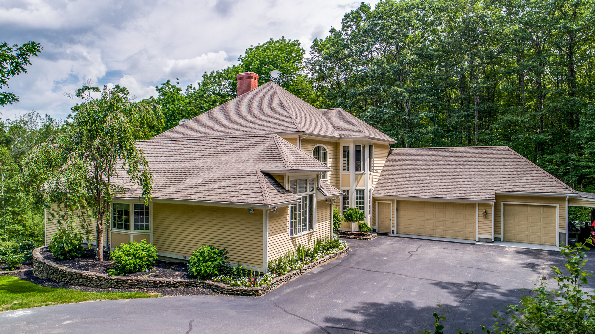 Single Family Home for Sale at Contemporary Waterfront 26 Cobb Road Ashburnham, Massachusetts, 01430 United States