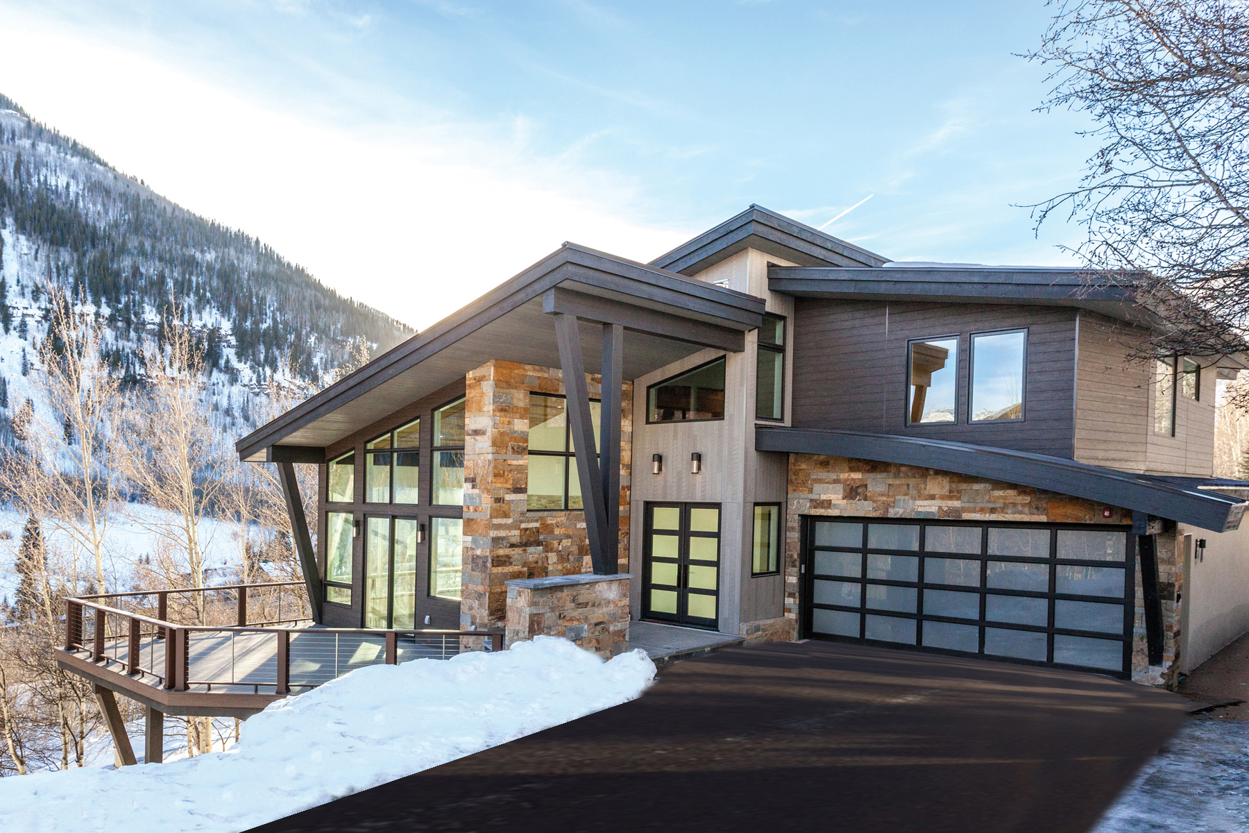 Dúplex por un Venta en New Construction in Vail 3235 Katsos Ranch Rd Vail, Colorado, 81657 Estados Unidos