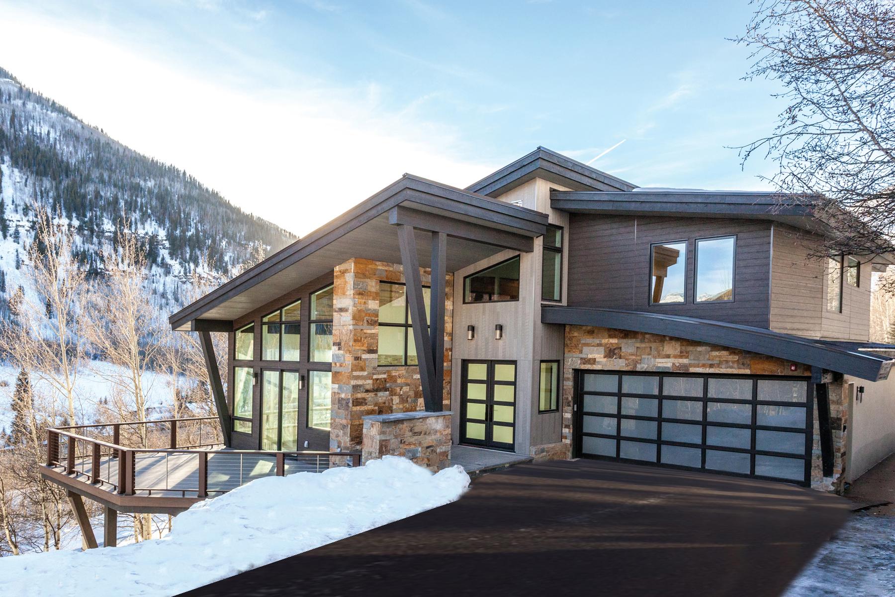 Doppelhaus für Verkauf beim New Construction in Vail 3235 Katsos Ranch Rd Vail, Colorado, 81657 Vereinigte Staaten