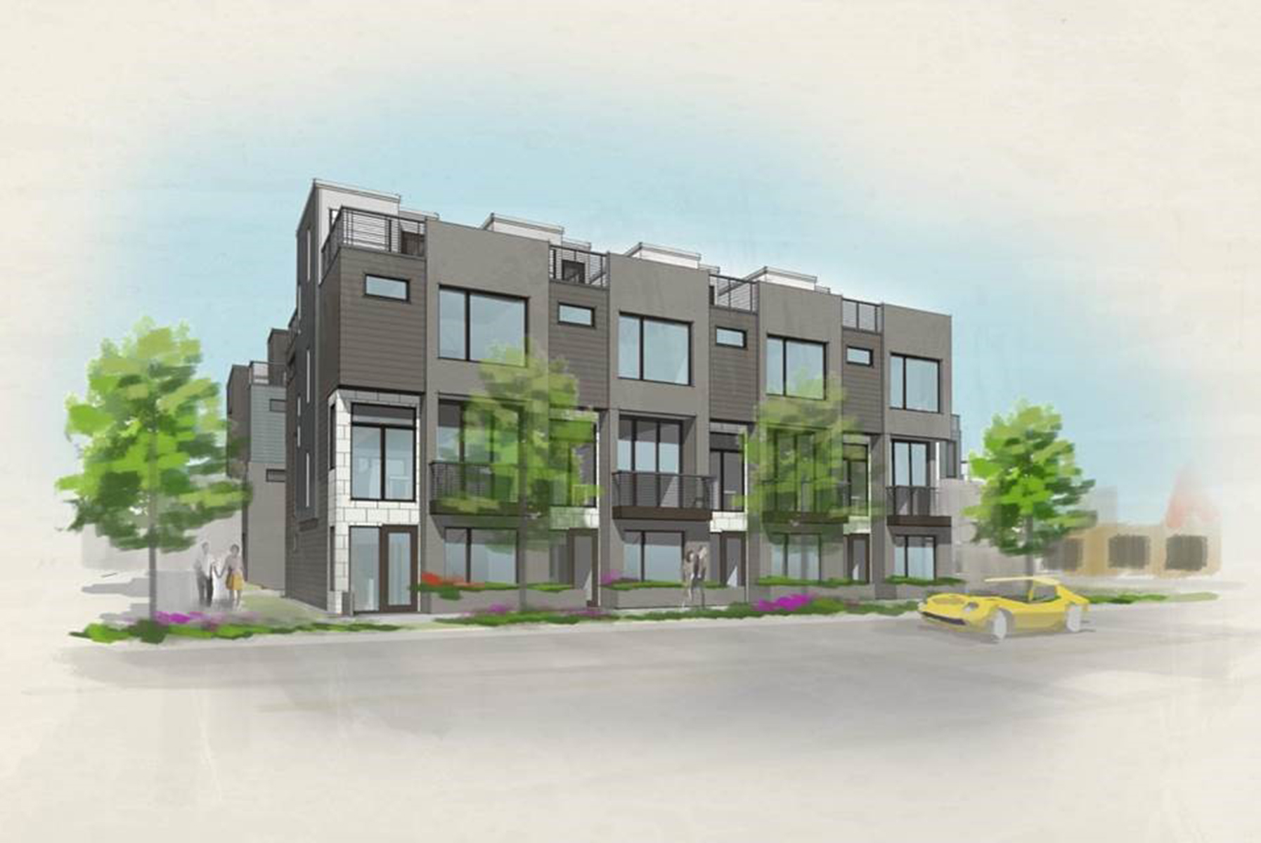 Townhouse for Active at Acoma Row Townhomes Are Designed With Modern Aesthetics In Mind 77 West 10th Avenue Denver, Colorado 80204 United States