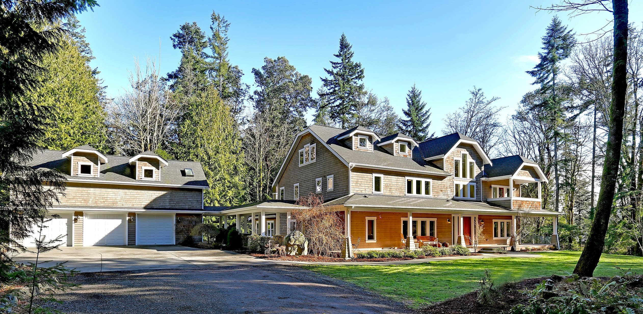 Maison unifamiliale pour l Vente à Port Blakely Estate 11011 NE Boulder Place Bainbridge Island, Washington, 98110 États-Unis