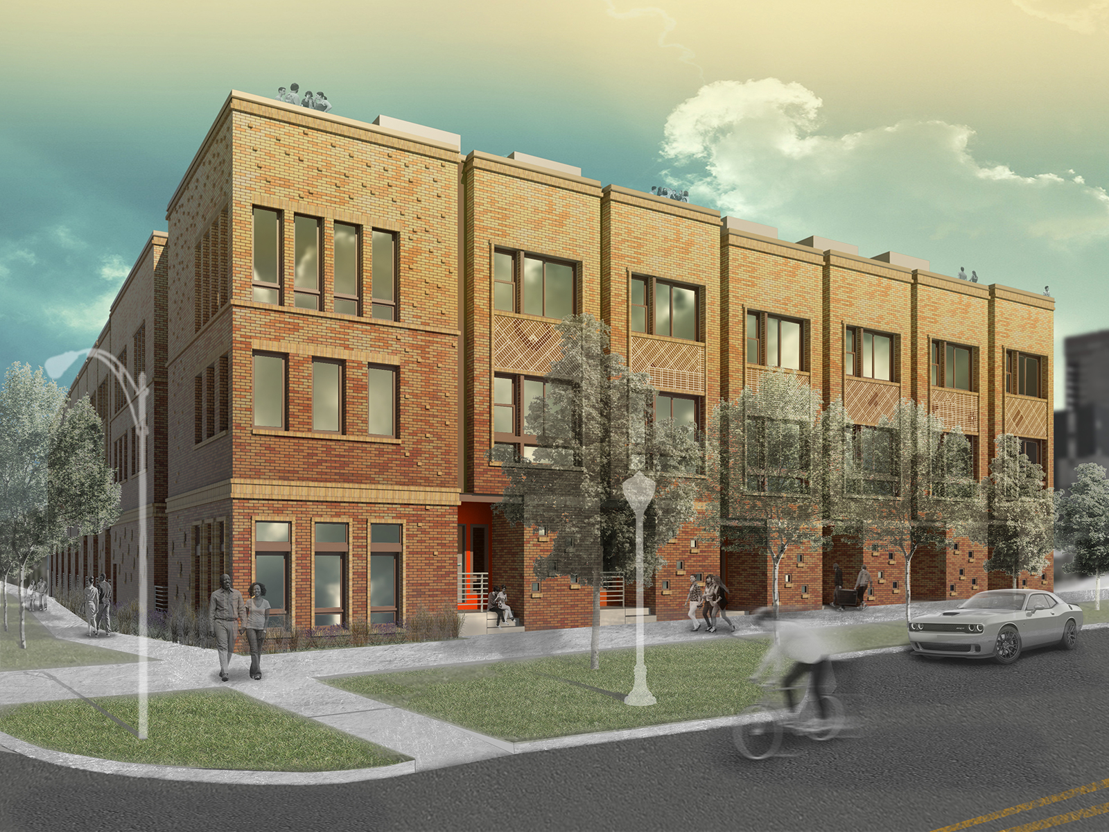 Townhouse for Active at Amazing Opportunity To Own A New Townhome 365 22nd Street #1 Denver, Colorado 80205 United States