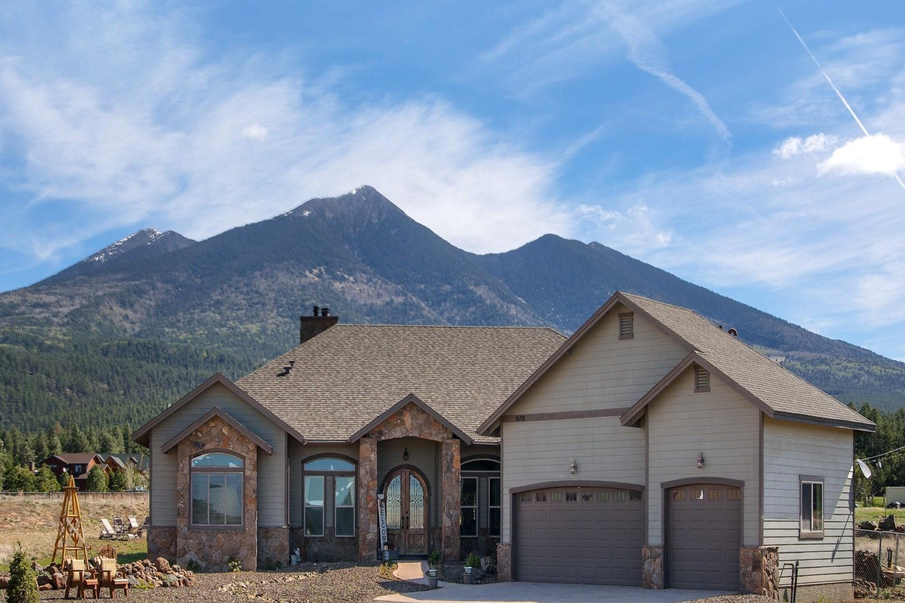 Single Family Home for Sale at Singe level home in Chimney Springs Trails 8701 N Chimney Springs Trl Flagstaff, Arizona, 86001 United States