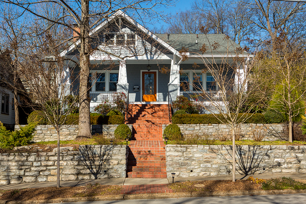 Single Family Home for Sale at Historic Craftsman Cottage 316 Fairfax Avenue Nashville, Tennessee 37212 United States