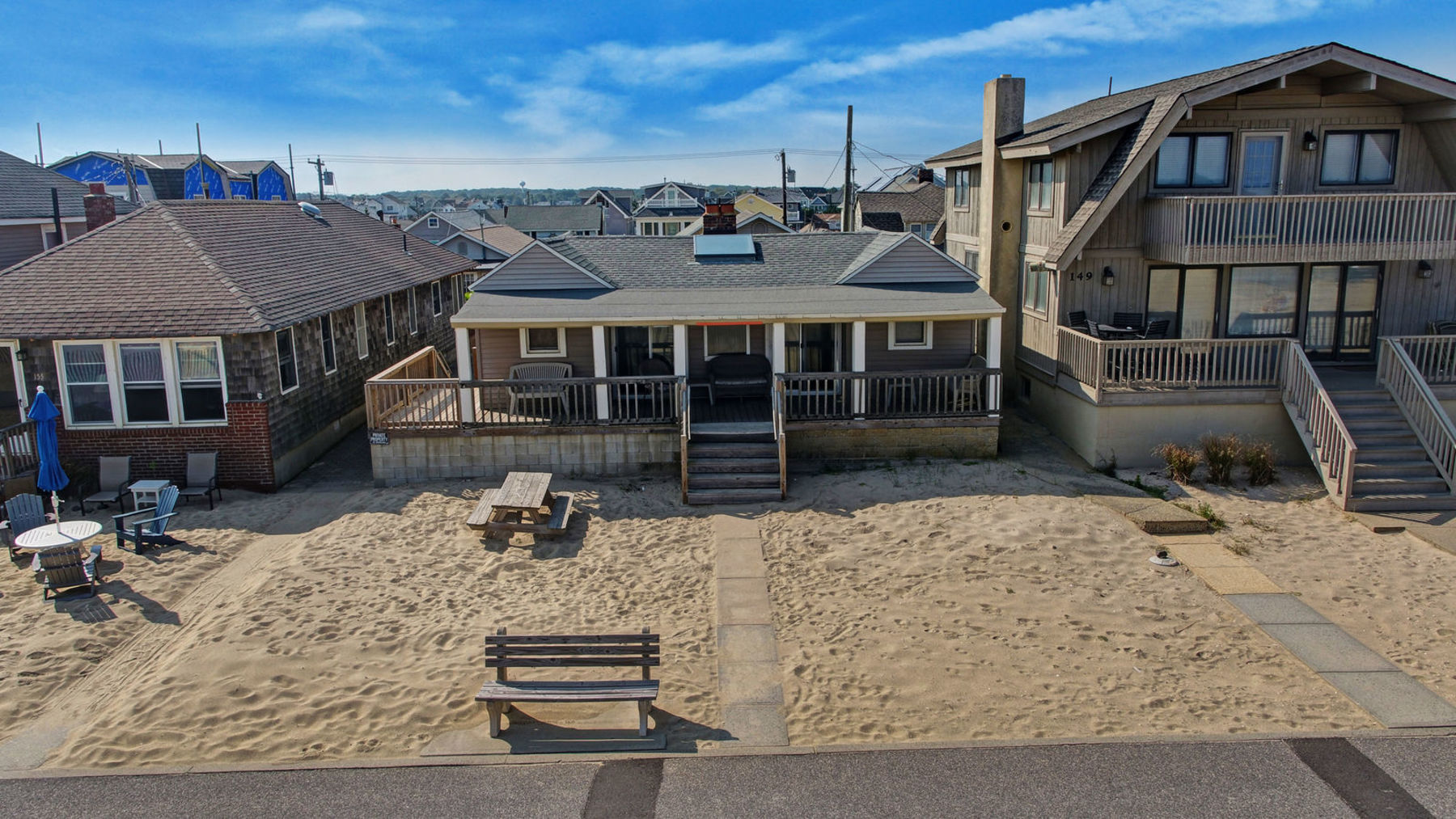 Single Family Home for Sale at Special Lot Size 153 Beachfront, Manasquan, New Jersey 08736 United States