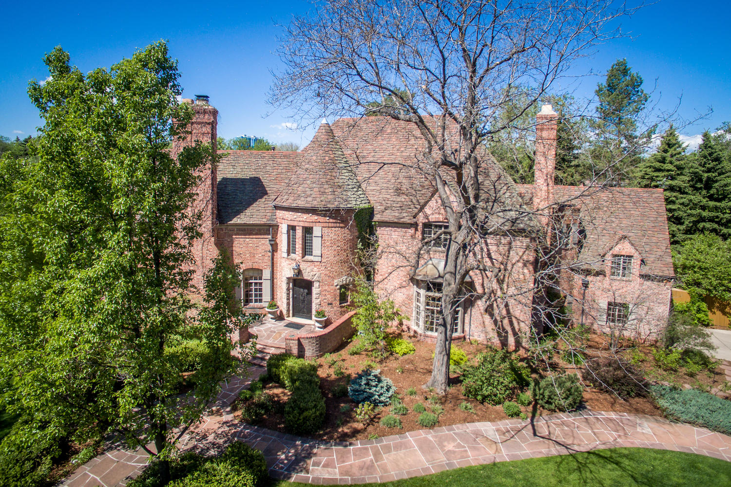 Single Family Home for Active at Very Special Tudor Located in Heart of Country Club Historic Neighborhood 401 Race Street Denver, Colorado 80206 United States