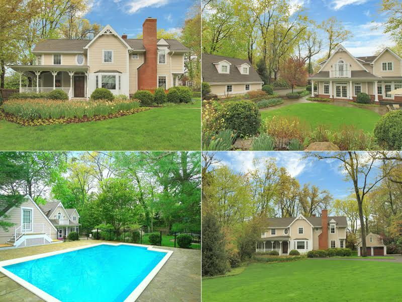 Single Family Home for Sale at Stunning & Renovated Tenafly Colonial 171 Hudson Avenue Tenafly, New Jersey 07670 United States