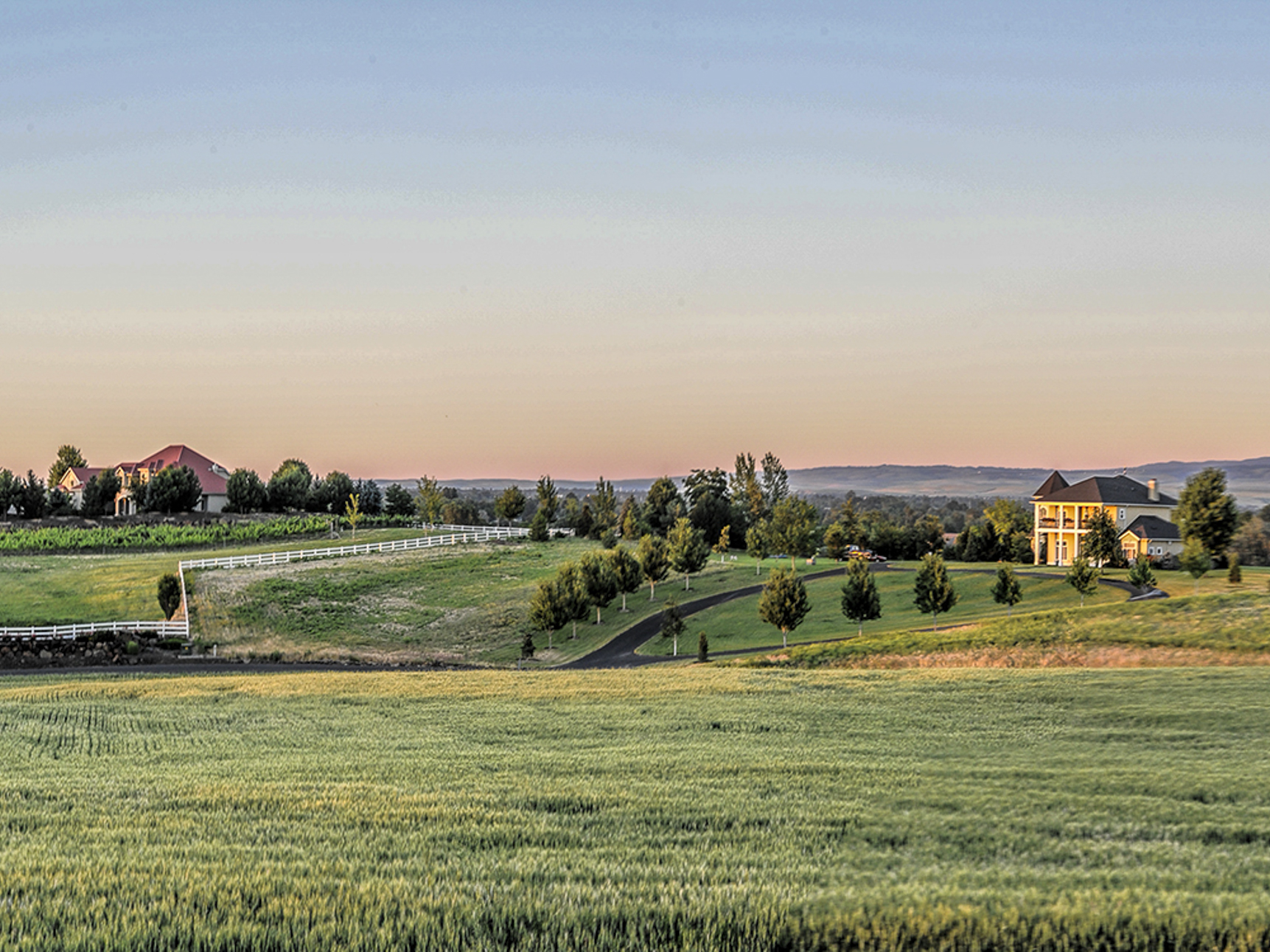 土地,用地 为 销售 在 Parcel #6 Red Hawk Road 瓦拉瓦拉, 华盛顿州, 99362 美国