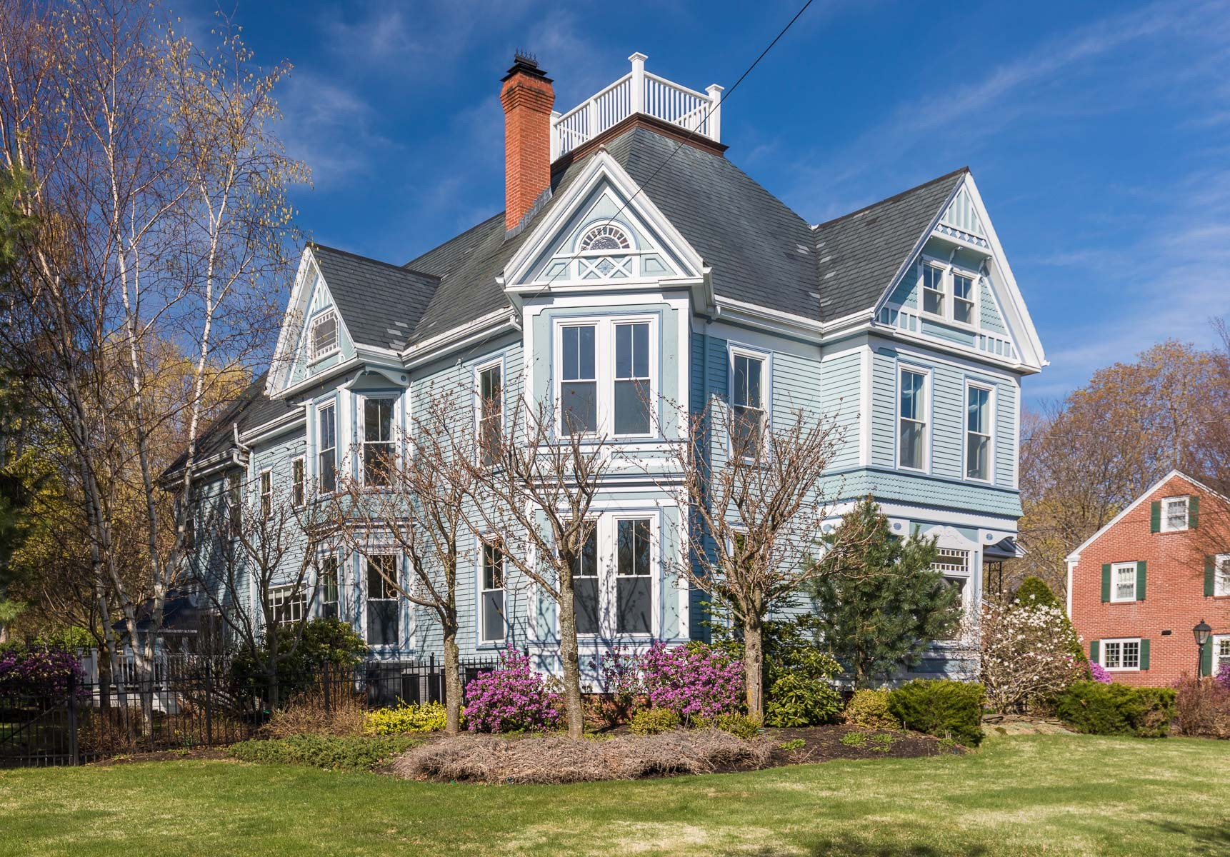 Single Family Home for Sale at Stunning Restored Victorian 293 High Street Newburyport, 01950 United States