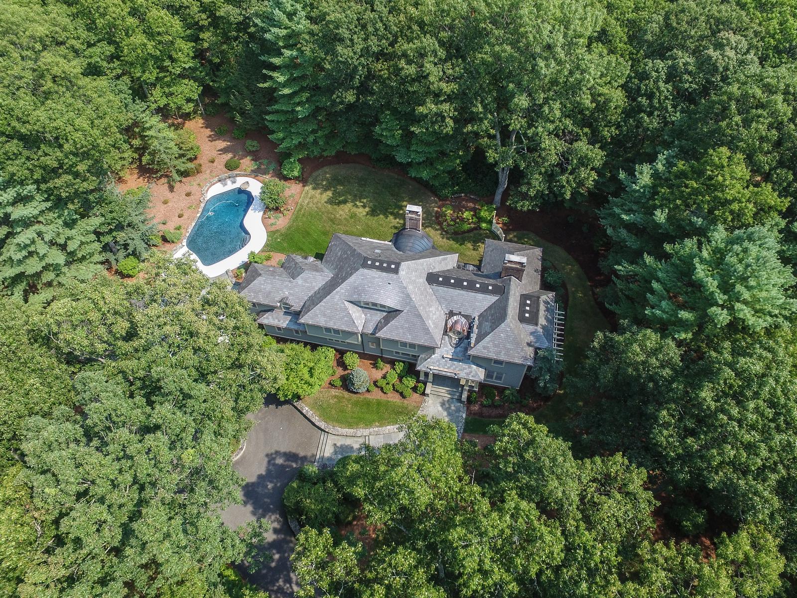 Частный односемейный дом для того Продажа на 52 Goodnow Road, Sudbury Sudbury, Массачусетс 01776 Соединенные Штаты