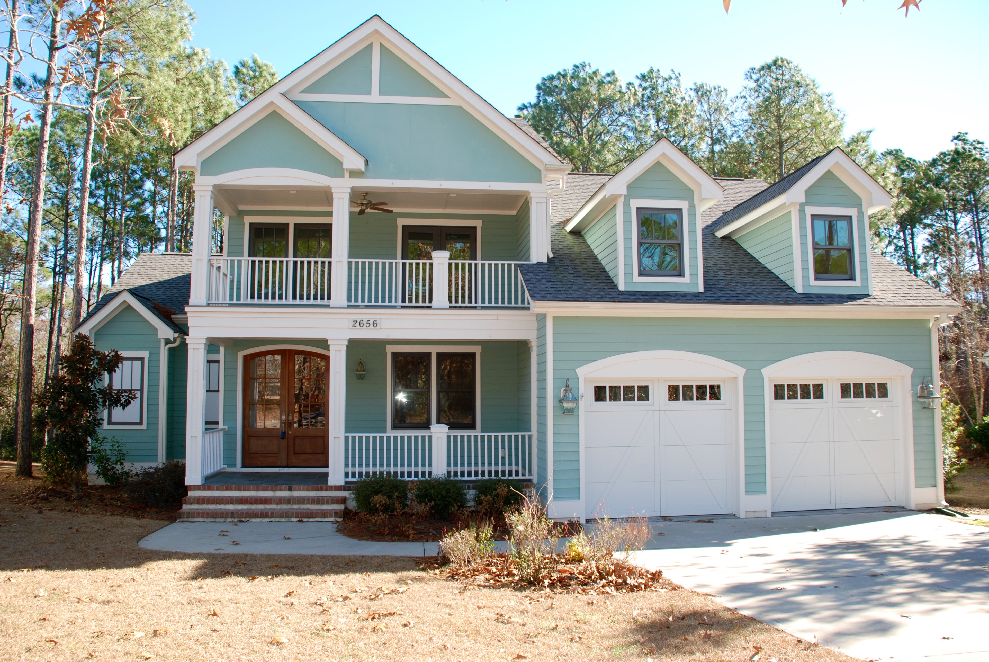 Single Family Home for Sale at Custom home with numerous upgrades & designer finishes 2656 Park Ridge Drive Southport, North Carolina 28461 United States