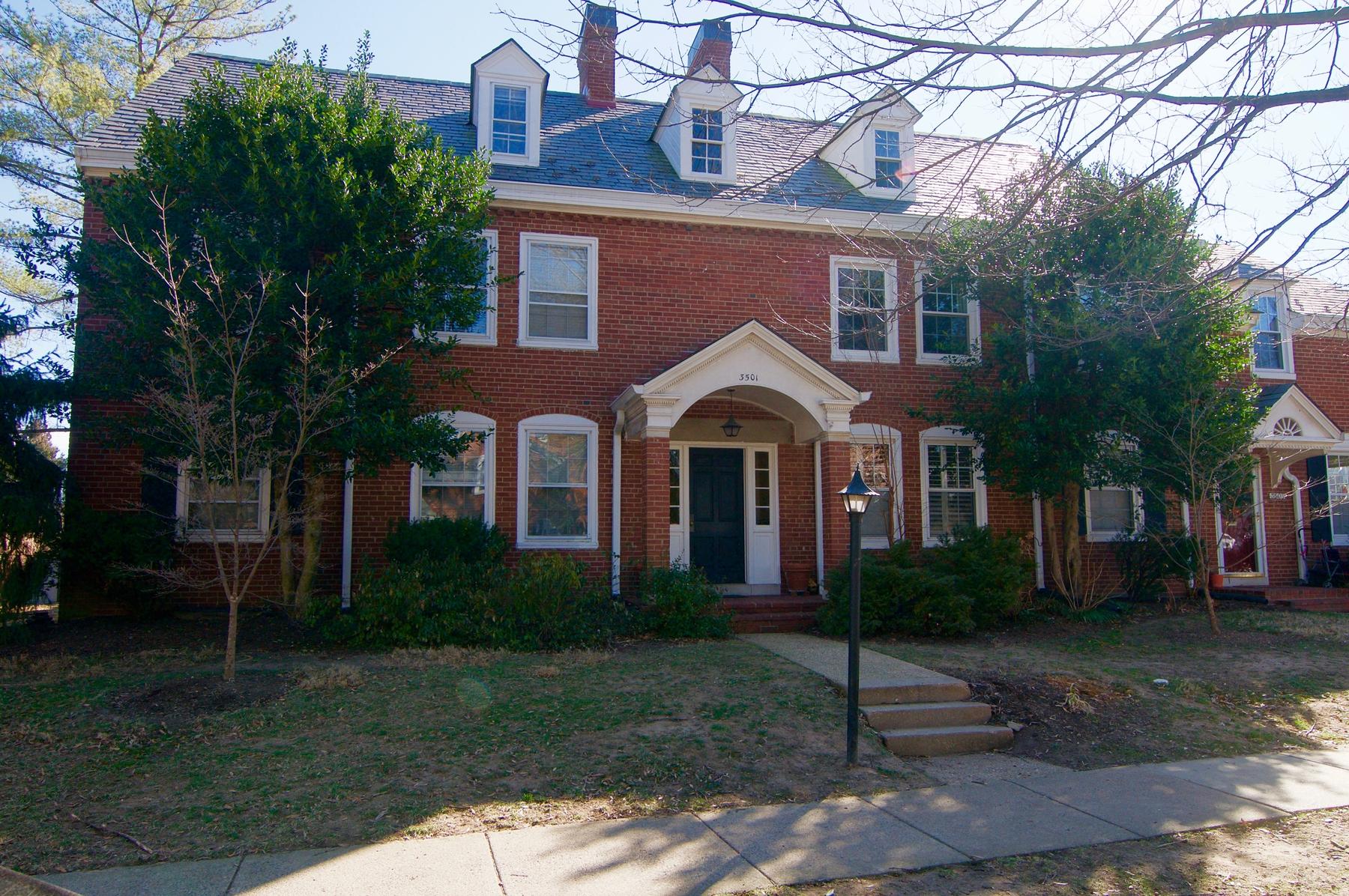 Appartement voor Huren een t Fairlington Glen 3501 S Stafford St B-1 Arlington, Virginia 22206 Verenigde Staten