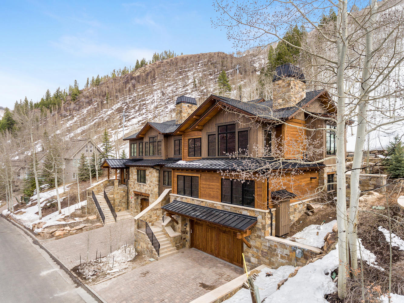 дуплекс для того Продажа на New Mountain Modern Duplex in Cascade Village 1242 Westhaven Circle Cascade Village, Vail, Колорадо, 81657 Соединенные Штаты