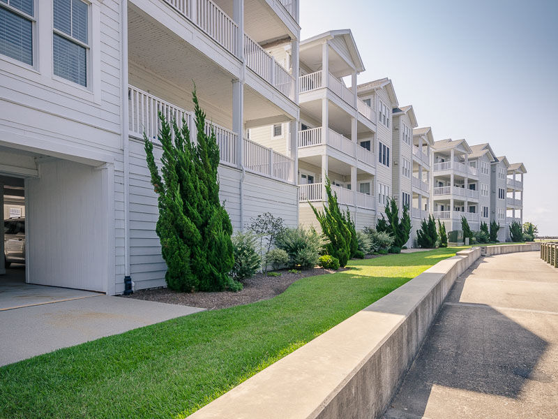 Condominiums for Sale at FIRST FLOOR WATERFRONT CONDO 412 Captains Cove Unit B Edenton, North Carolina 27932 United States