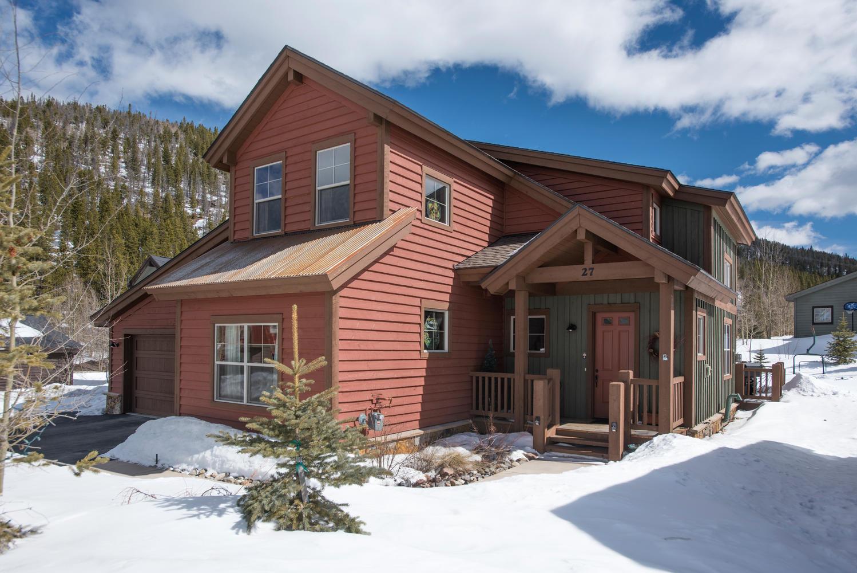 단독 가정 주택 용 매매 에 Vista Piont 27 Sheppard Circle Breckenridge, 콜로라도, 80424 미국