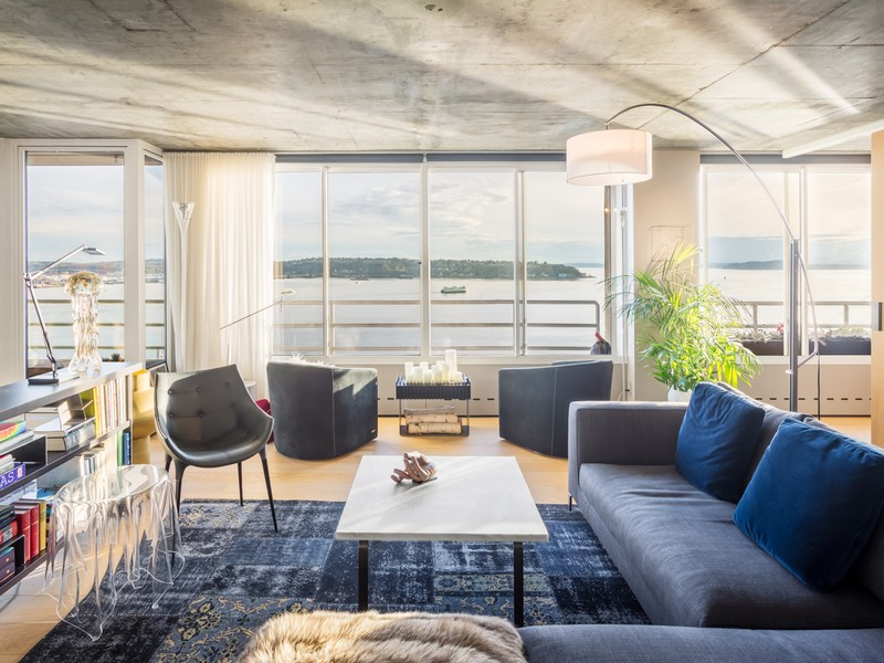 Condominium for Sale at Continental Place #1506 2125 1st Avenue #1506 Downtown, Seattle, Washington, 98121 United States