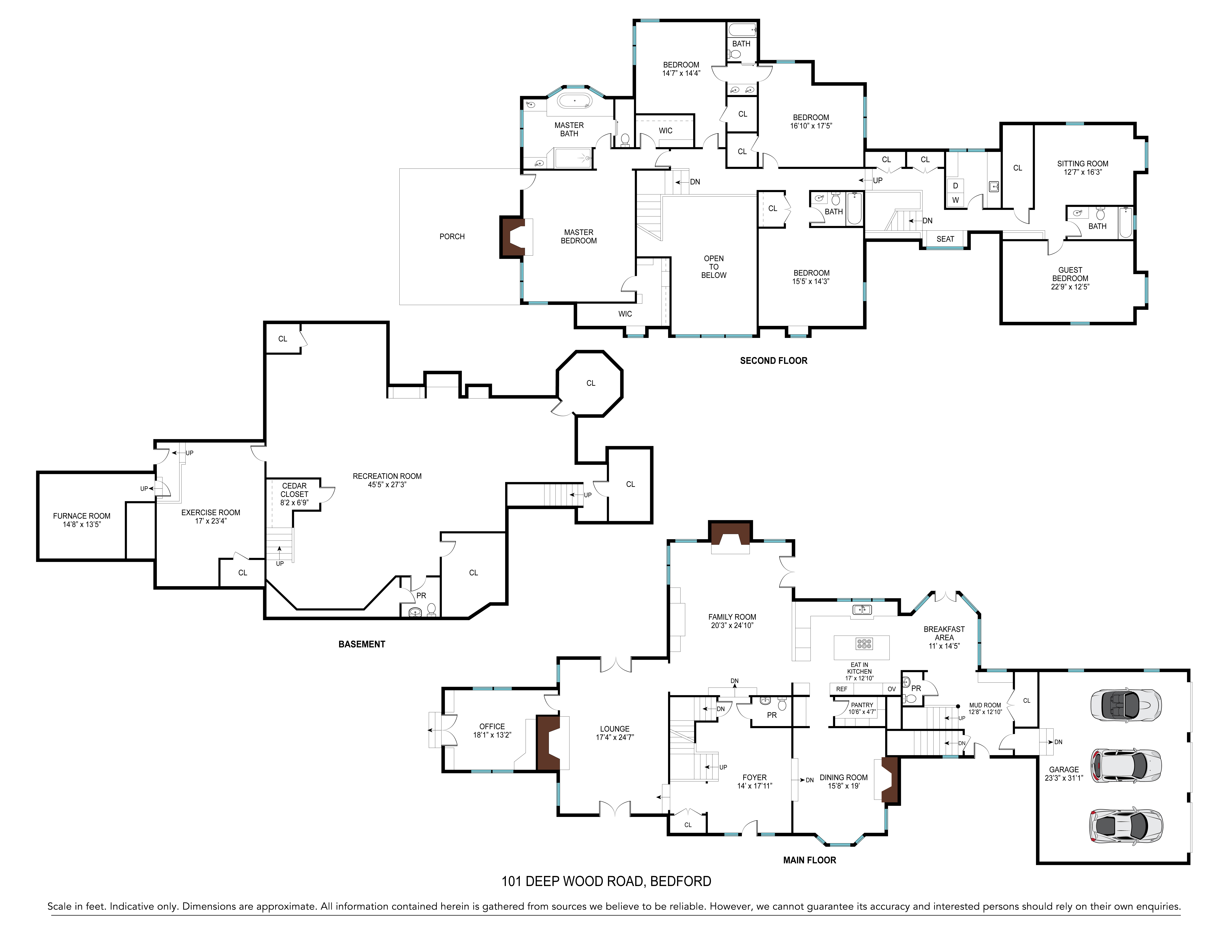 Single Family Homes for Sale at Deepwood Knoll 101 Deepwood Road Bedford, New York 10506 United States