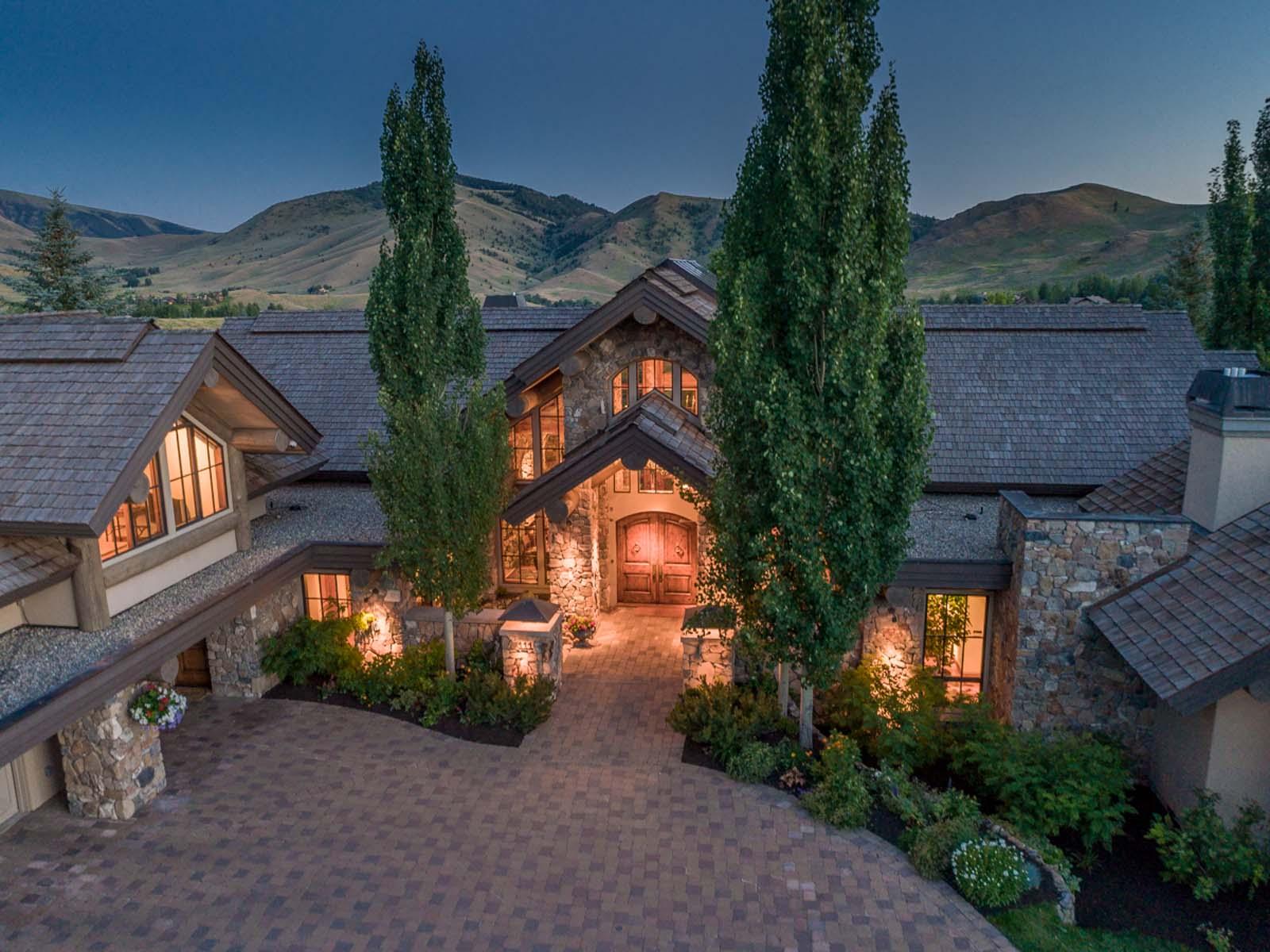 Villa per Vendita alle ore Luxury Sun Valley Estate 111 Sagewillow Rd Sun Valley, Idaho, 83353 Stati Uniti