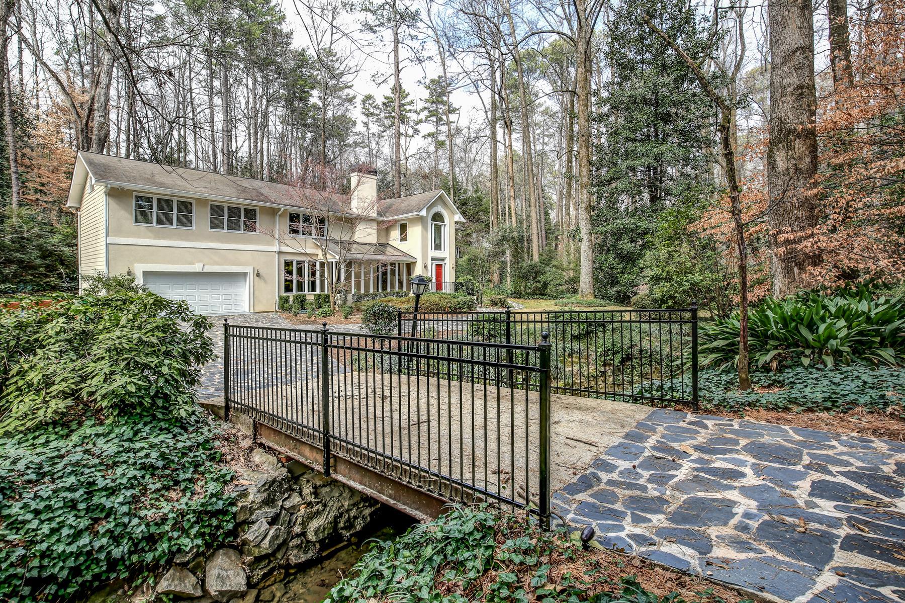 Maison unifamiliale pour l à louer à Modern Home with an Estate Setting 1090 McConnell Drive Decatur, Georgia 30033 États-Unis