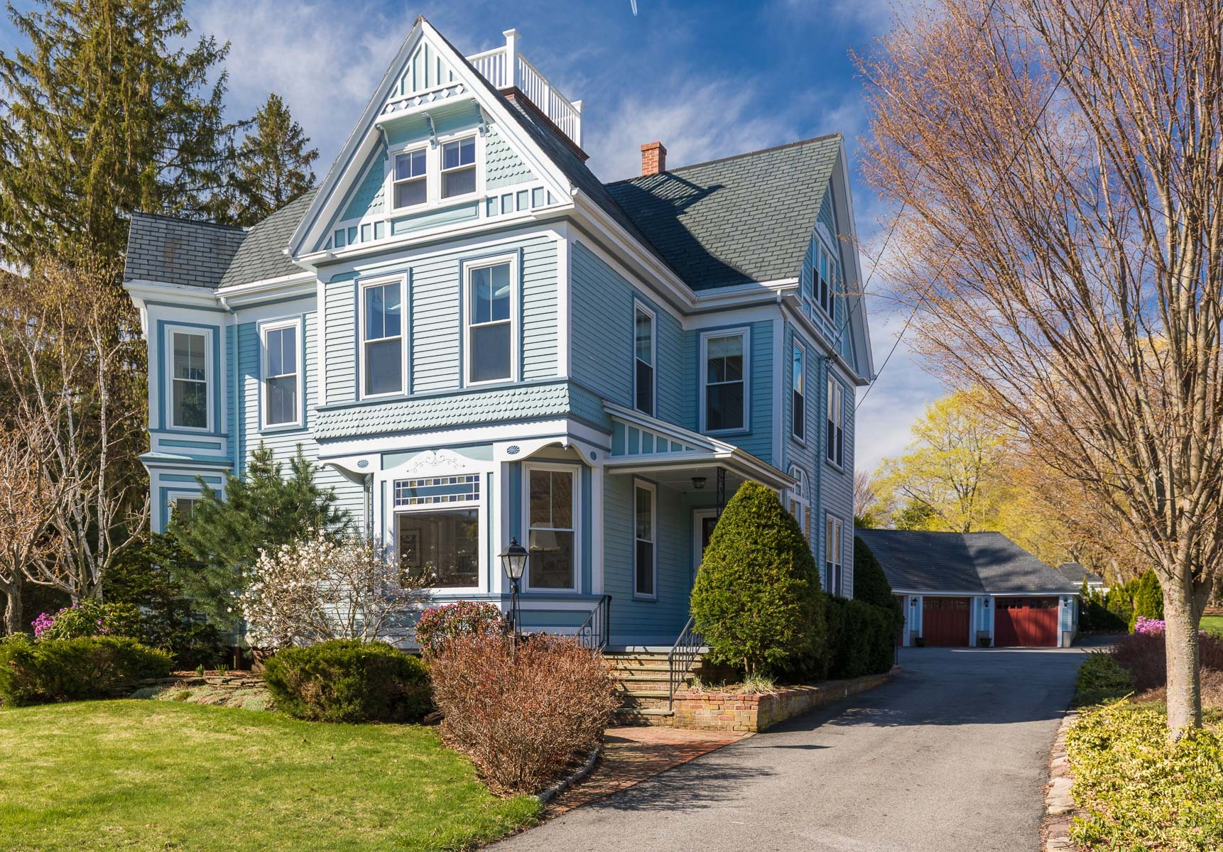 独户住宅 为 销售 在 Stunning Restored Victorian 293 High Street Newburyport, 马萨诸塞州 01950 美国