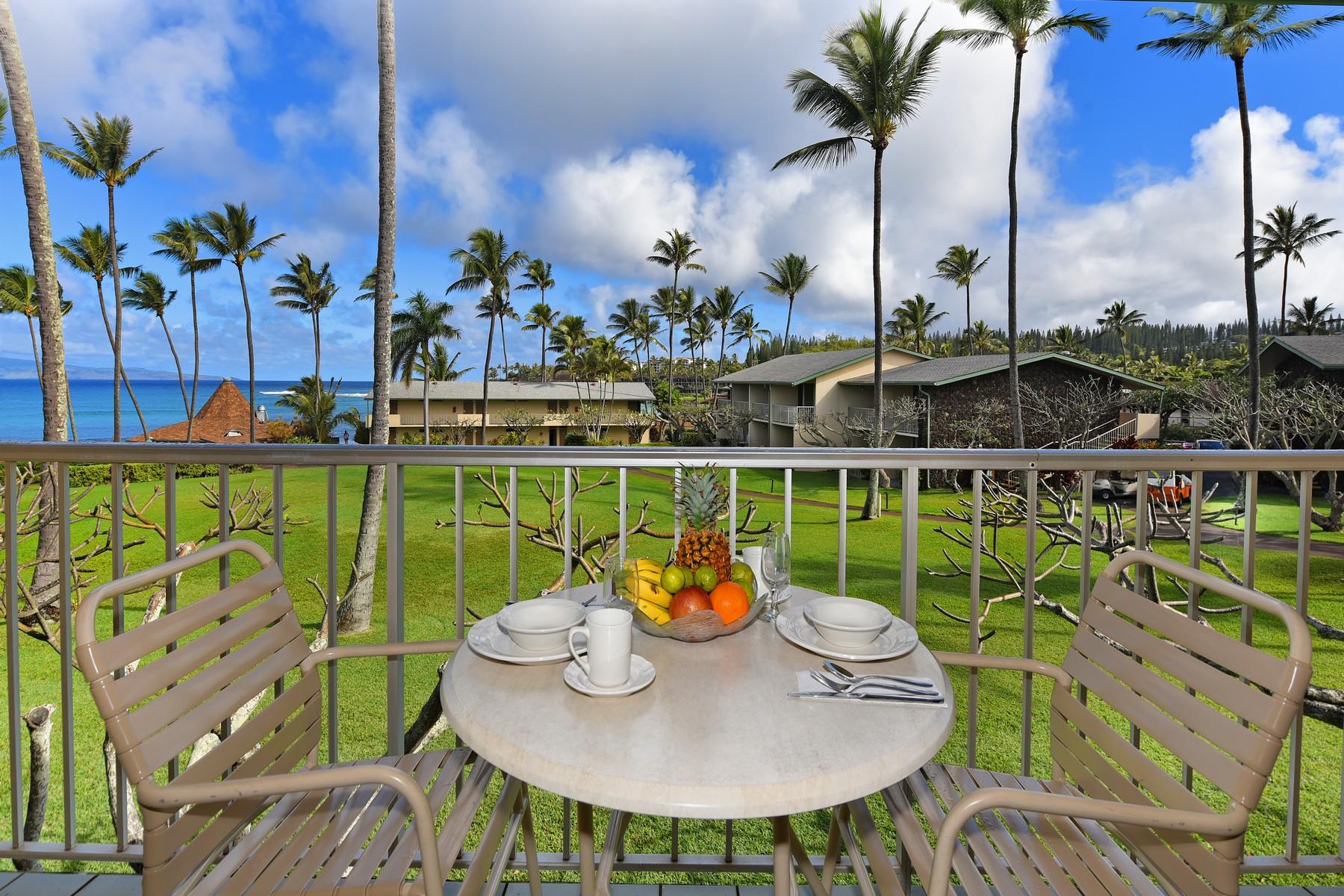 Condominio por un Venta en A Little Slice of Paradise 5315 Lower Honoapiilani Road, Napili Shores G256 Napili, Hawaii, 96761 Estados Unidos