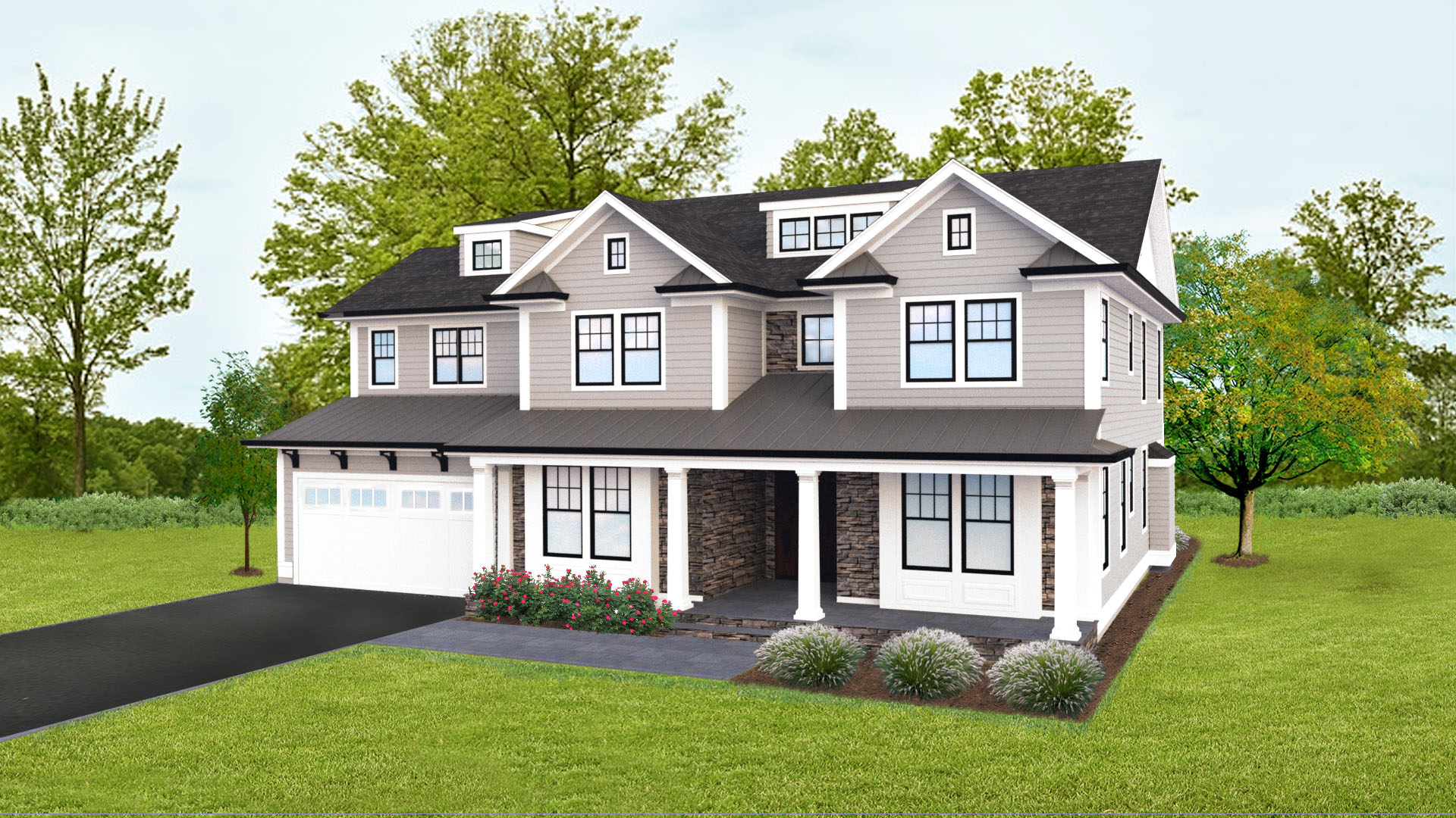 Eensgezinswoning voor Verkoop een t Brand new construction in the Poets section! 14 Shelley Road, Short Hills, New Jersey 07078 Verenigde Staten