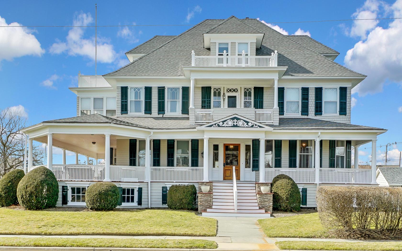 Single Family Home for Sale at Luxurious Avon Colonial 302 Garfield Avenue Avon By The Sea, New Jersey, 07717 United States