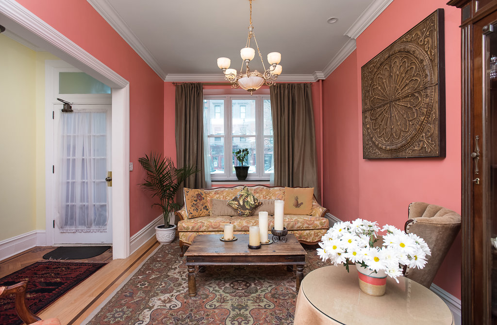 Single Family Home for Sale at Historic Brownstone Home on Washington St! 909 Washington Street Hoboken, New Jersey 07030 United States