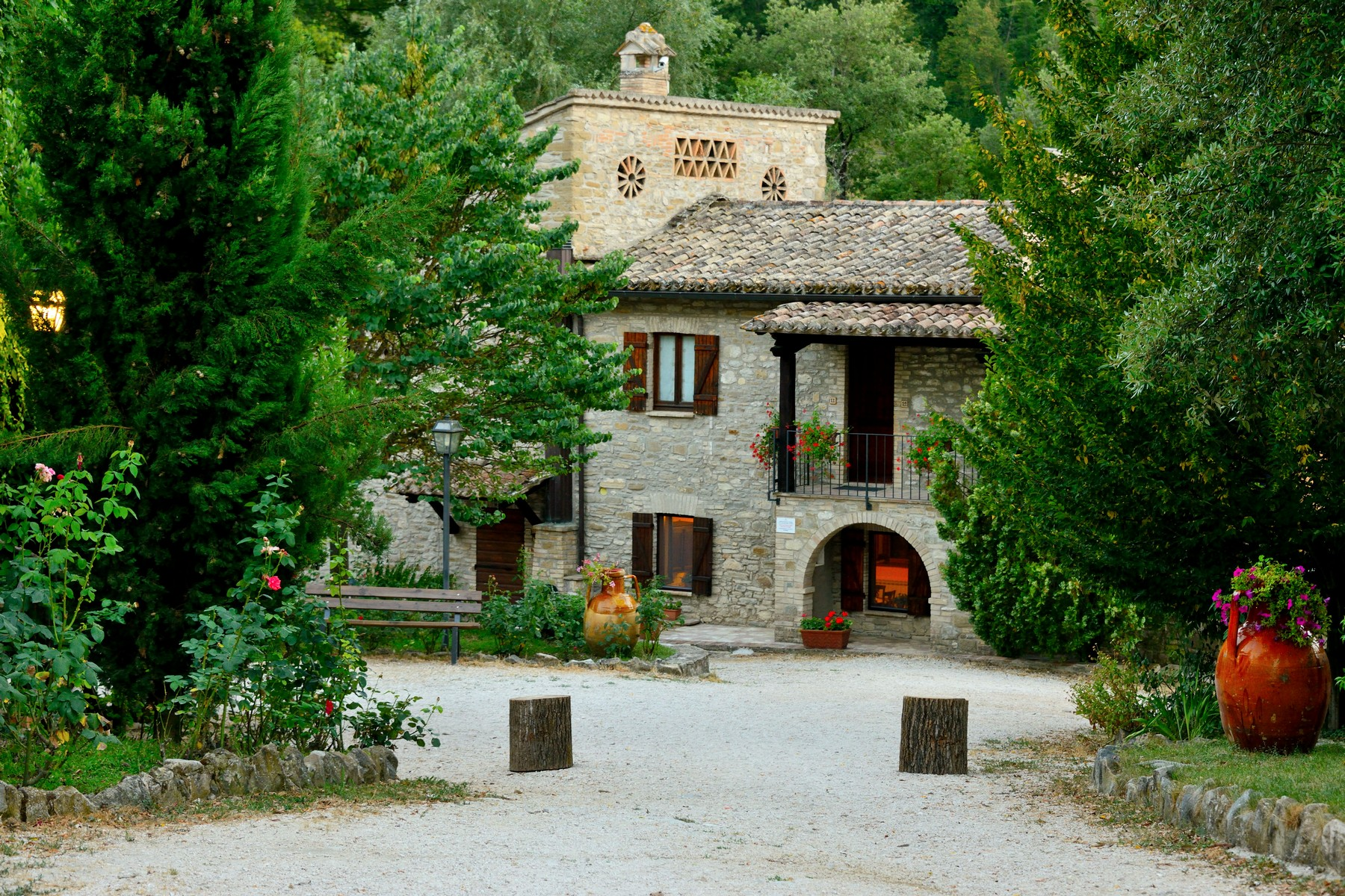 sales property at Hamlet with land close to Assisi