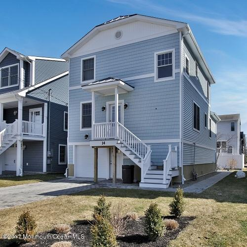 Single Family Home for Sale at Beautiful Custom Shore Home 14 Sims Avenue Manasquan, New Jersey 08736 United States