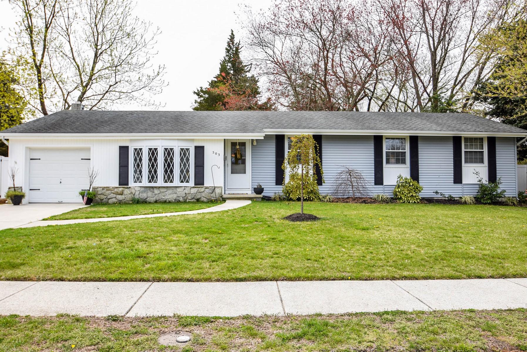 Частный односемейный дом для того Продажа на 503 Davis Avenue Linwood, 08221 Соединенные Штаты