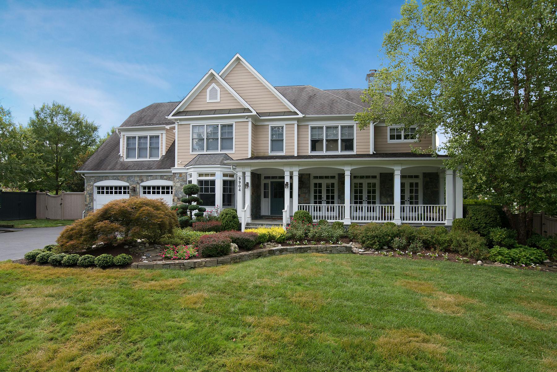 Casa Unifamiliar por un Venta en 9904 Woodford Road, Potomac 9904 Woodford Rd Potomac, Maryland, 20854 Estados Unidos