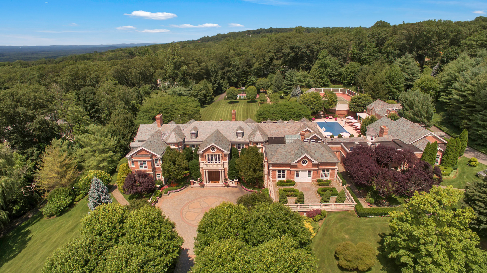 واحد منزل الأسرة للـ Sale في Timeless Grandeur 887 Closter Dock Road, Alpine, New Jersey, 07620 United States