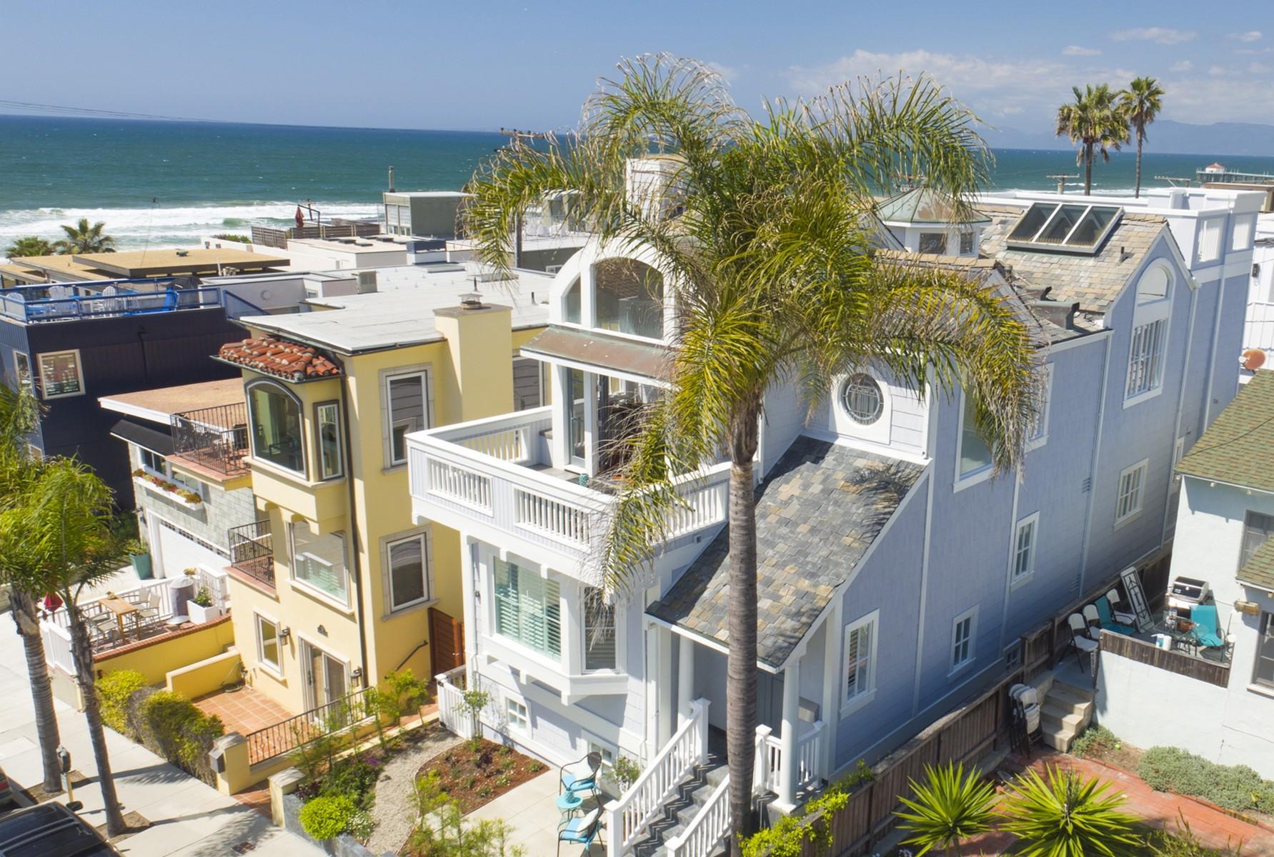 Casa para uma família para Venda às 135 33rd Street Hermosa Beach, Califórnia, 90254 Estados Unidos