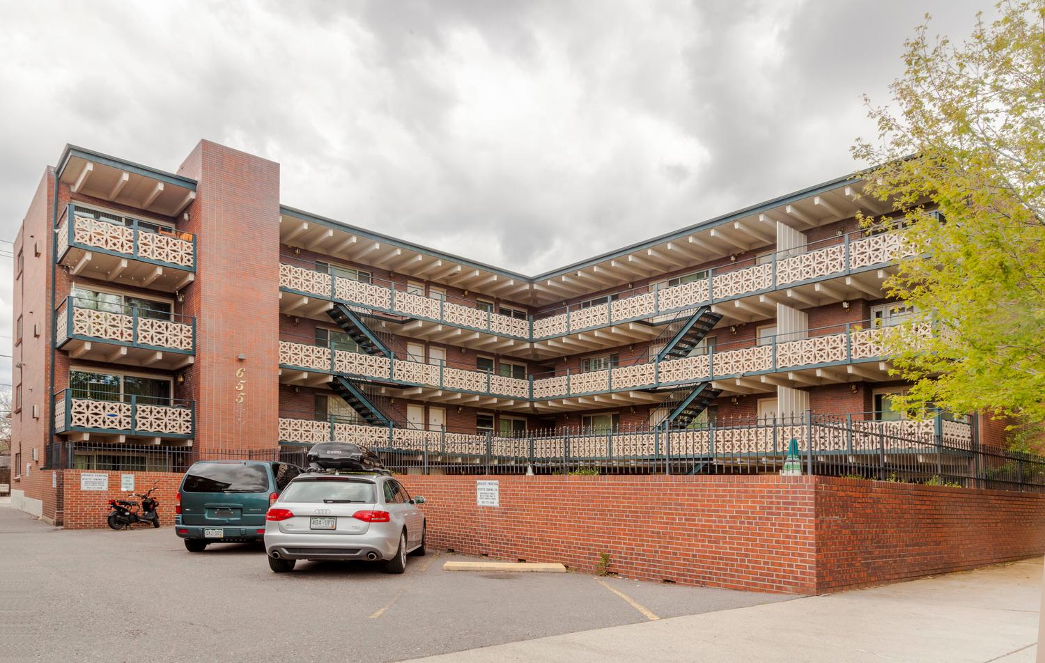 Condominium for Active at Well-maintained gem in the heart of Capital Hill 655 Pearl Street 401 Denver, Colorado 80203 United States