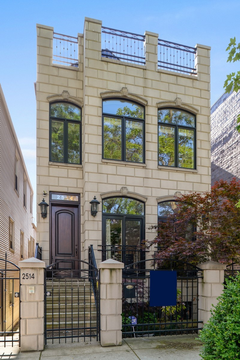 Single Family Home for Sale at Gorgeous Lincoln Park Greystone 2514 N. Marshfield Avenue Lincoln Park, Chicago, Illinois, 60614 United States