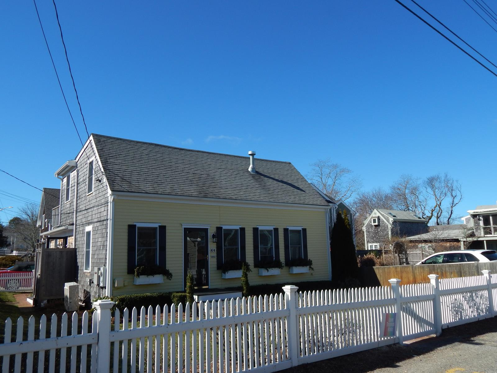 Single Family Home for Sale at Sweet West End Cape 44 Pleasant Street Provincetown, Massachusetts, 02657 United States