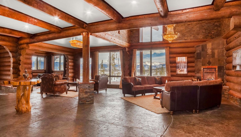 Single Family Home for Active at Incredible Energy Efficient Log Estate 119 E Elk Meadows Dr Tabernash, Colorado 80478 United States