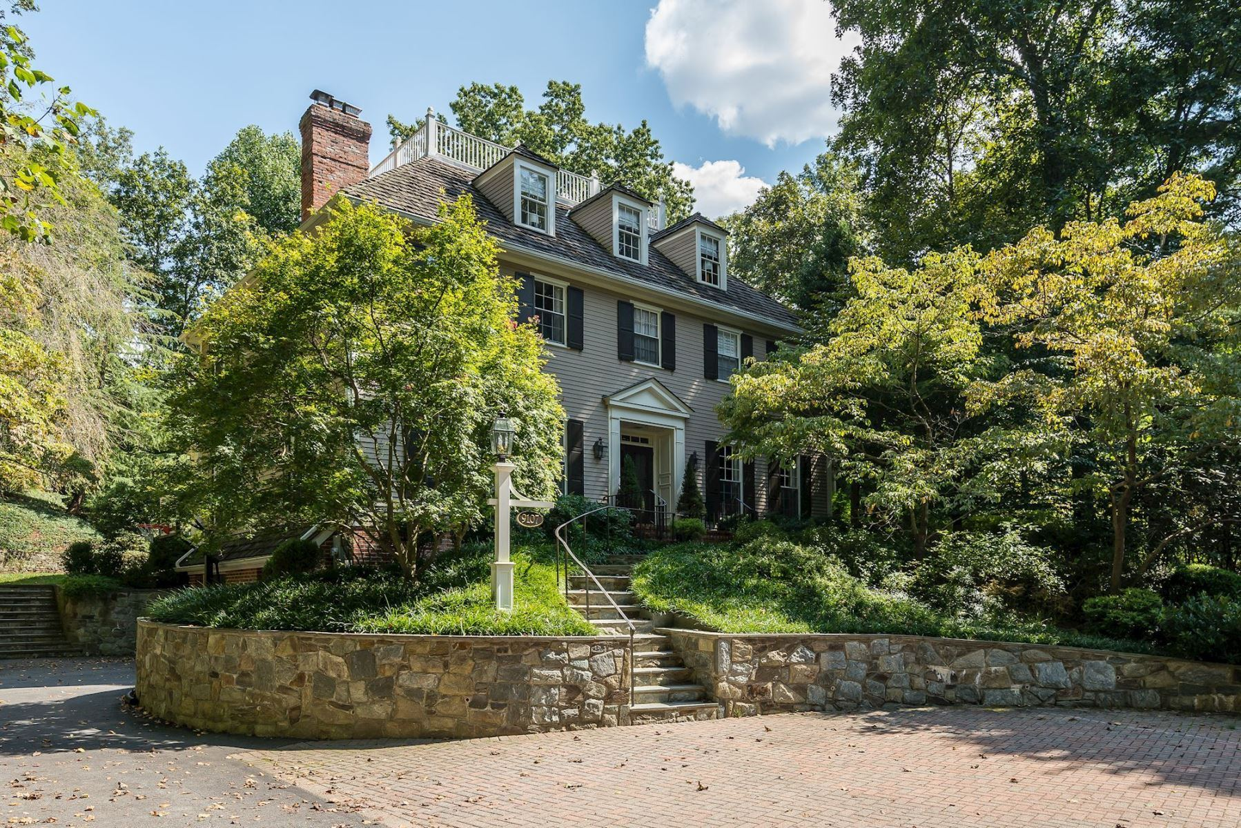 Single Family Home for Sale at 9107 North Branch Drive, Bethesda Bethesda, Maryland 20817 United States