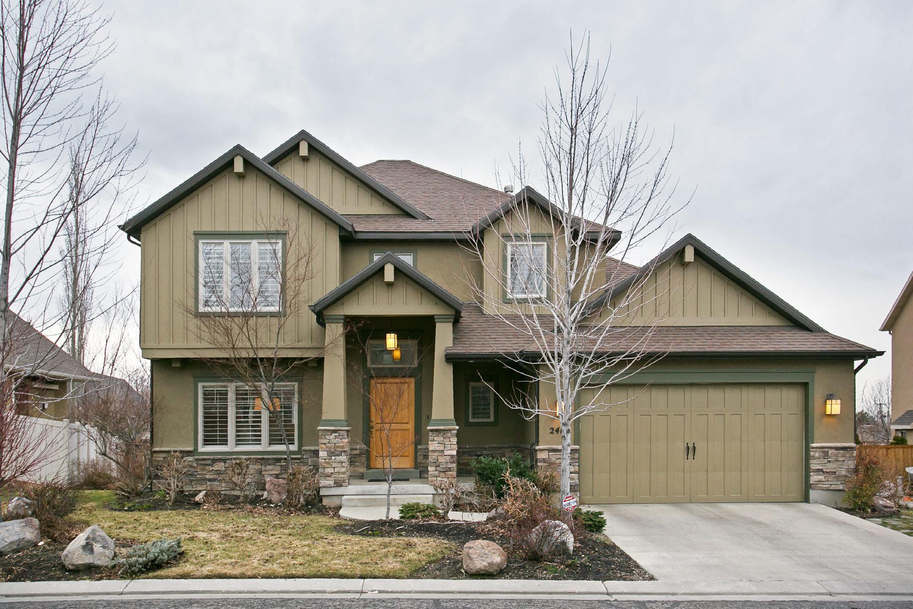 獨棟家庭住宅 為 出售 在 Beautiful East Millcreek Two-Story 2418 E Woodwillow Cir Salt Lake City, 猶他州, 84109 美國