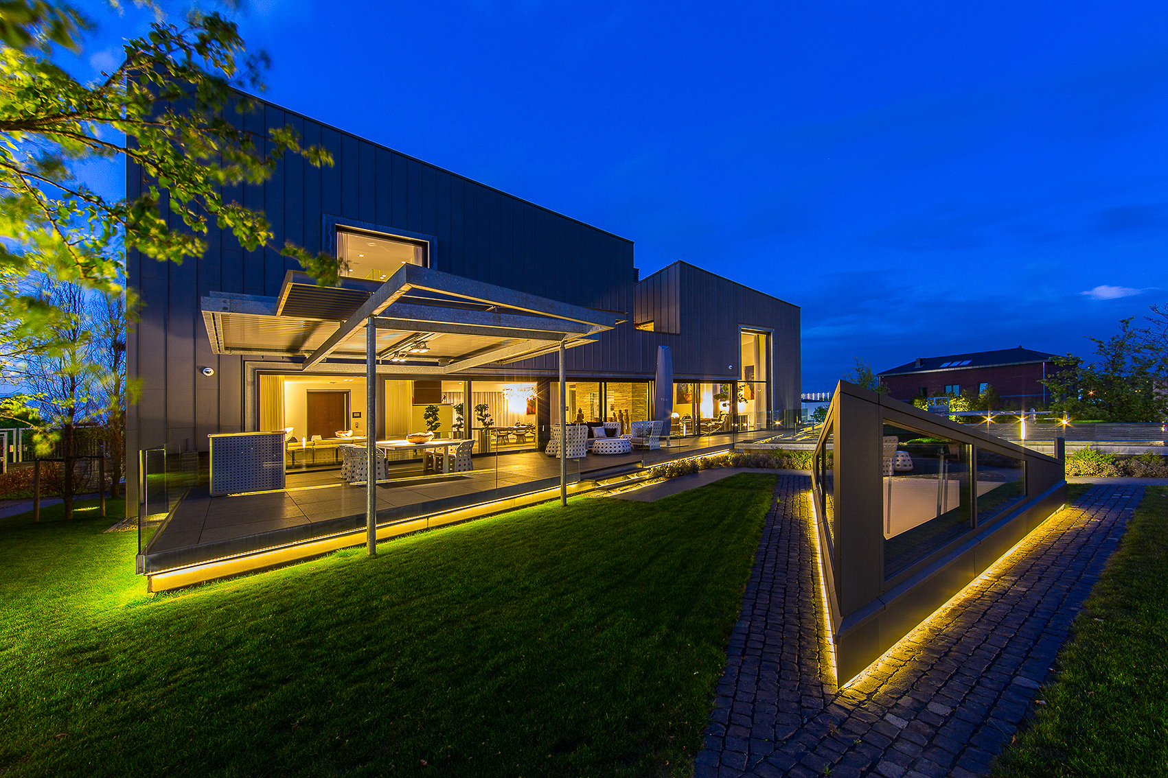 Single Family Home for Sale at Breathtaking Modern Villa Koningskaars 8 Heerlen, Limburg 6418 PR Netherlands