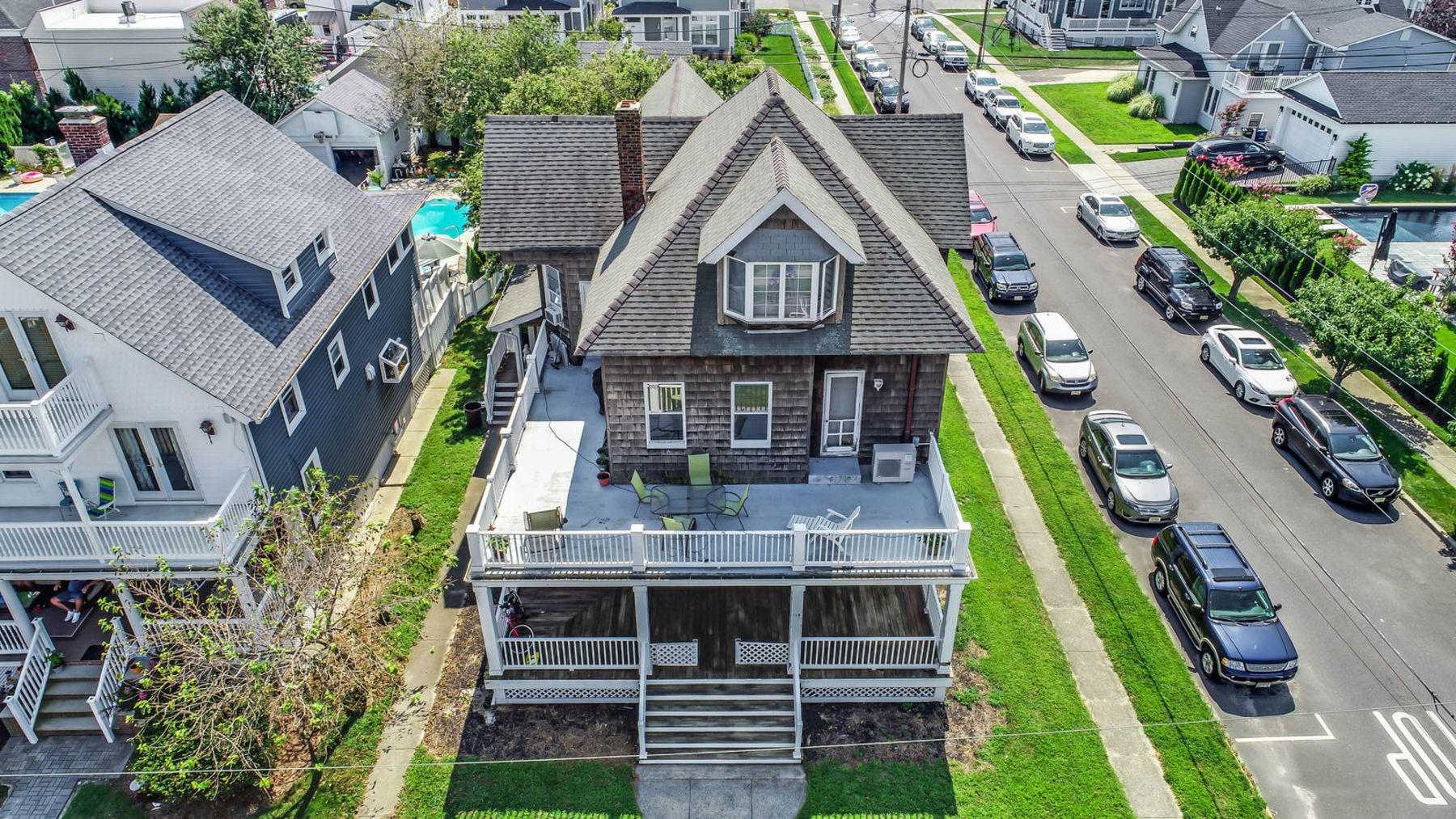 Single Family Home for Sale at Belmar Shore Colonial 115 Fourth Avenue, Belmar, New Jersey 07719 United States