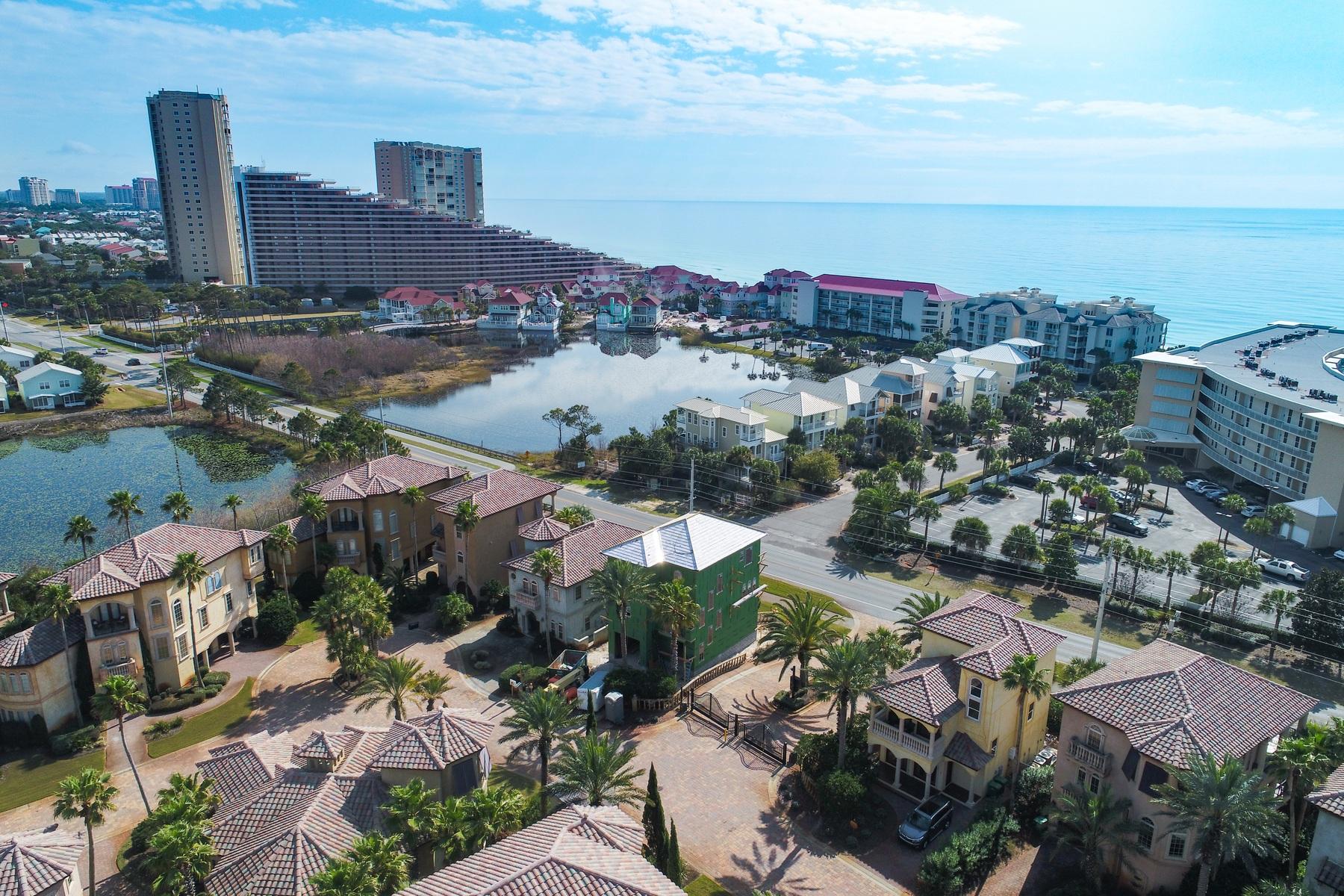 Moradia para Venda às STUNNING NEW CONSTRUCTION IN GATED MEDITERRANEAN NEIGHBORHOOD SAINT TROPEZ 231 Rue Saint Tropez Miramar Beach, Florida, 32550 Estados Unidos
