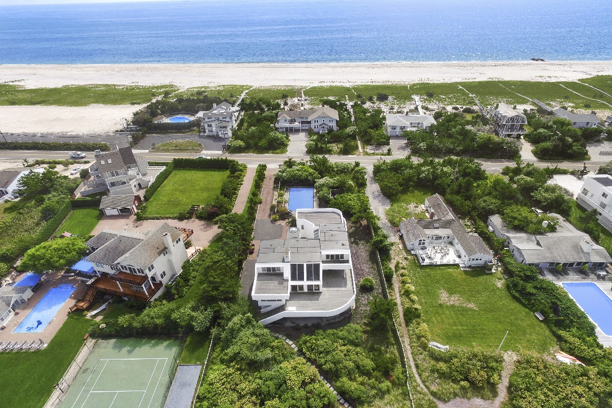 Single Family Home for Sale at Intriguing Bayfront 482 Dune Road Westhampton Beach, New York, 11978 United States