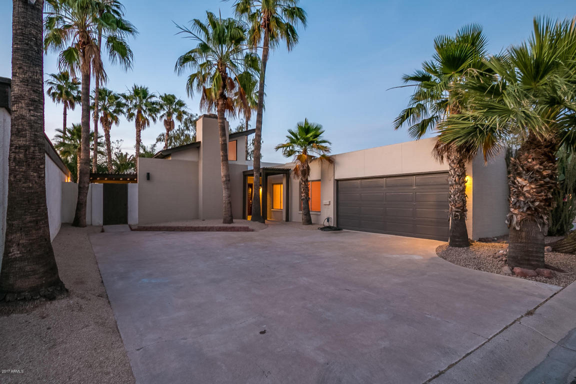 Single Family Home for Sale at Meticulously Maintained Mid-Century Modern 7710 E Monte Vista Rd Scottsdale, Arizona, 85257 United States