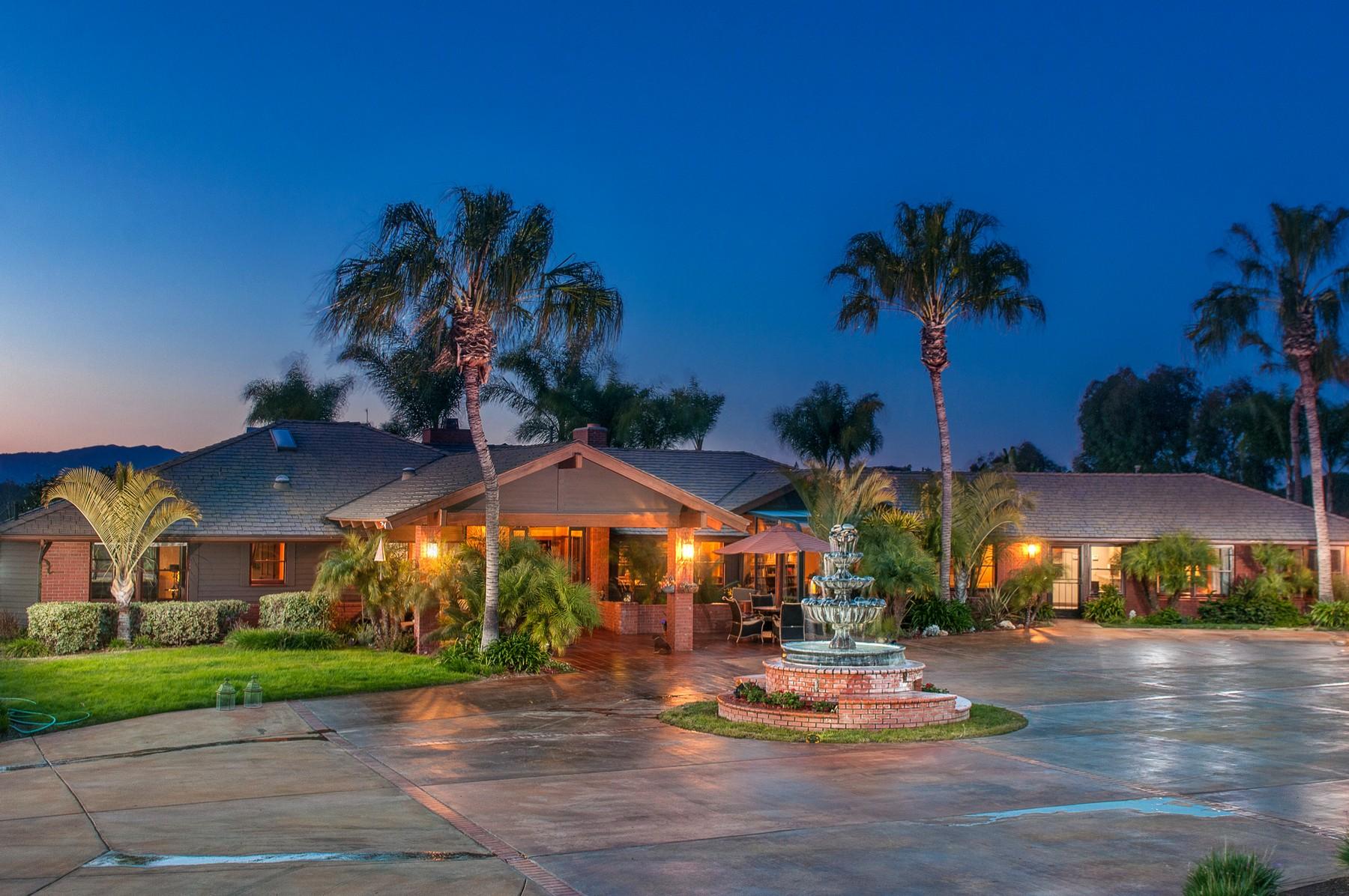 Villa per Vendita alle ore 24 Country Glen Road Fallbrook, California, 92028 Stati Uniti